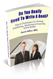 do you really need to write a book? tips & techniques for writing, pub