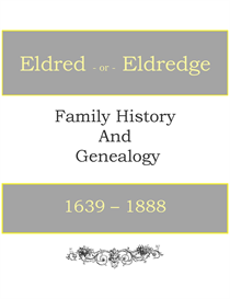 eldred eldredge family history and genealogy