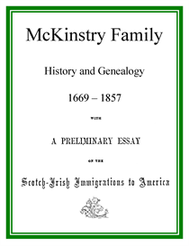 mckinstry family history and genealogy