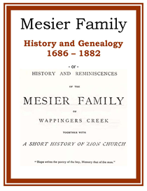 mesier family history and genealogy
