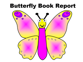 Colorful Butterfly(1) Book Report Set | Other Files | Documents and Forms