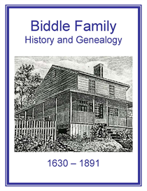 biddle family history and genealogy