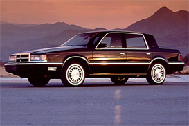 1990 dodge dynasty mvma specifications