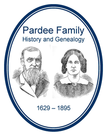 pardee family history and genealogy