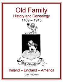 old family history and genealogy