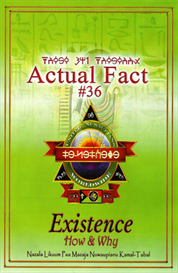 actual fact #36 - existence, how & why