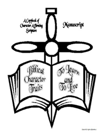 Biblical Character Traits to Learn and to Live-Manuscript Copybook | eBooks | Education