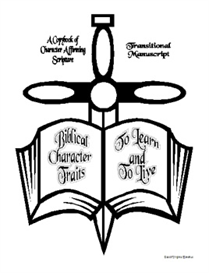 Biblical Character Traits to Learn and to Live-Transitional Manuscript | eBooks | Education