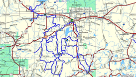 WI Iron County ATV Trail Map | Other Files | Documents and Forms