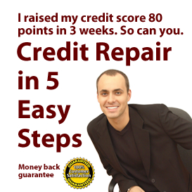 5 Easy Steps to Credit Repair | eBooks | Finance