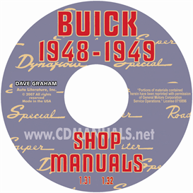 1948-1949 buick shop manual & dynaflow manual