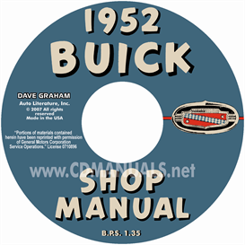 1952 buick shop manual- all models