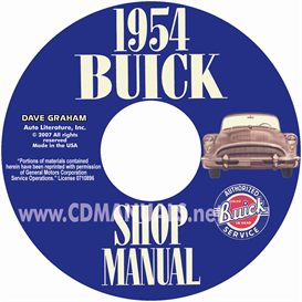 1954 buick shop manual  all models