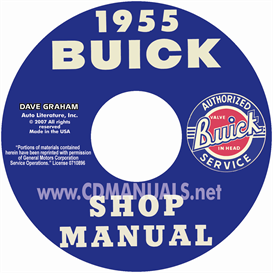 1955 buick shop manual  all models