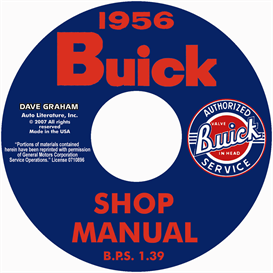 1956 buick shop manual - all models