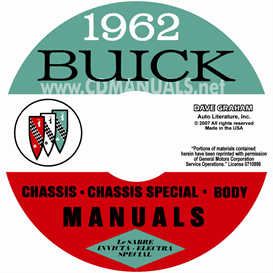 1962 Buick Shop Manuals - All Models | eBooks | Automotive