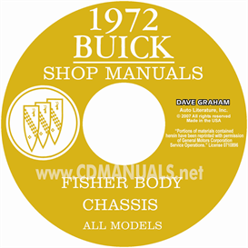 1972 Buick Shop Manual & Body Manual- All Models | eBooks | Automotive