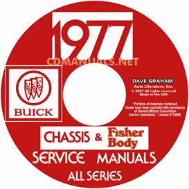 1977 buick shop manual & body manual