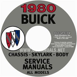 1980 buick shop manuals