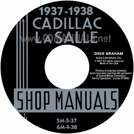 1937-1938 Cadillac & Lasalle Shop Manual | eBooks | Automotive