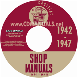 1942-1946-1947 Cadillac Manuals | eBooks | Automotive