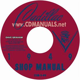 1949 cadillac shop manual - all models