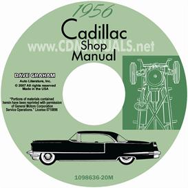 1956 cadillac shop manual - all models