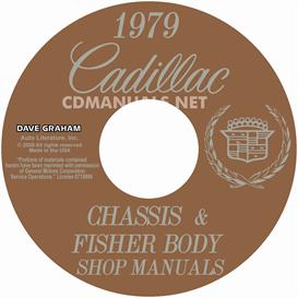 1979 cadillac shop manual & body manual - all models