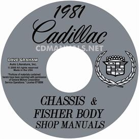 1981 Cadillac Shop Manuals - All Models | eBooks | Automotive