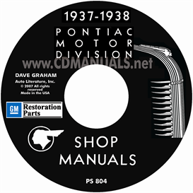 1937-1938 pontiac shop manual - all models