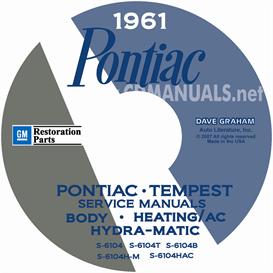 1961 Pontiac Shop Manual With Body, Hydra-Matic, & A/C Manual | eBooks | Automotive