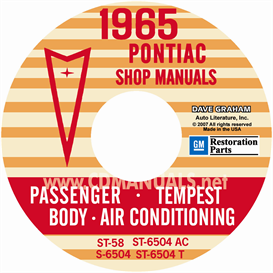 1965 Pontiac Shop Manual With Body & Air Conditioning Manuals - | eBooks | Automotive