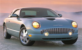 2004 ford thunderbird product information specifications