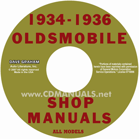 1934-1936 oldsmobile shop manual- all models