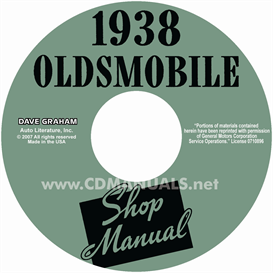 1938 oldsmobile shop manual- all models