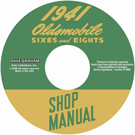 1941 oldsmobile shop manual-all models