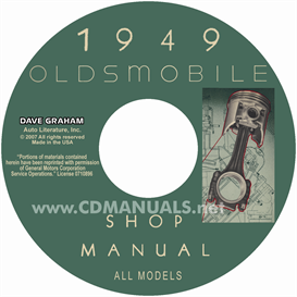 1949 oldsmobile shop manual- all models