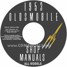 1953 oldsmobile shop manual- all models