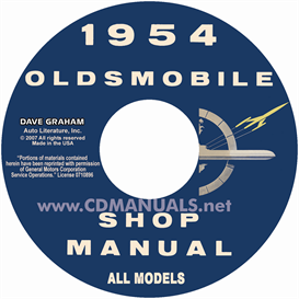 1954 oldsmobile shop manual- all models
