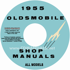 1955 oldsmobile shop manual- all models