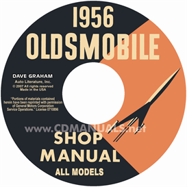 1956 oldsmobile shop manual- all models