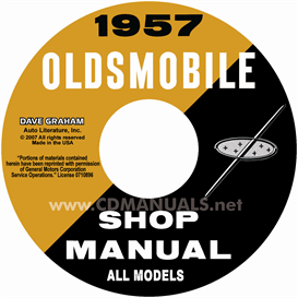 1957 oldsmobile shop manual- all models