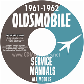1961-1962 oldsmobile shop manual- all models