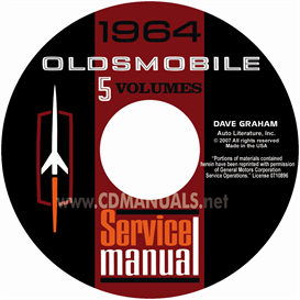 1964 oldsmobile shop manual- all models