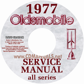 1977 oldsmobile shop manual & body manual- all models