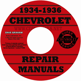 1934-1936 Chevrolet Shop Manuals - All Cars & Trucks | eBooks | Automotive