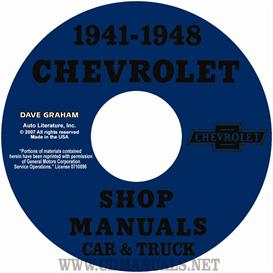 1941-1948 chevrolet shop manuals 1941-1948 car & 1941-1946 truck