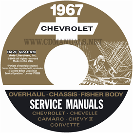 1967 chevy shop manual, body & overhaul manuals- all models