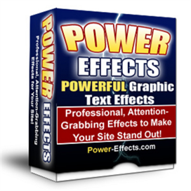 power effects v2 - (graphics text effects with mrr)