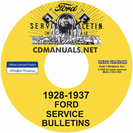 1928-1937 ford service bulletins